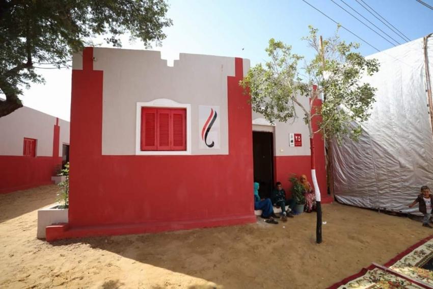 في إطار المبادرة الرئاسية لتطوير ورفع كفاءة  القرى الأكثر احتياجا:
