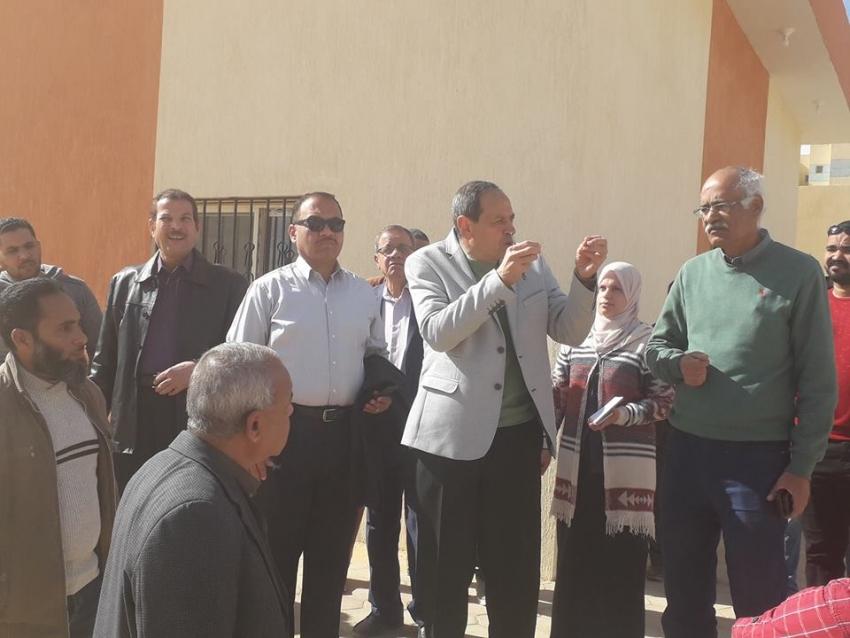 جولة تفقدية لسكرتير العام لمحافظة السويس لمتابعة الخدمات والمرافق والمدن السكنية الجديدة