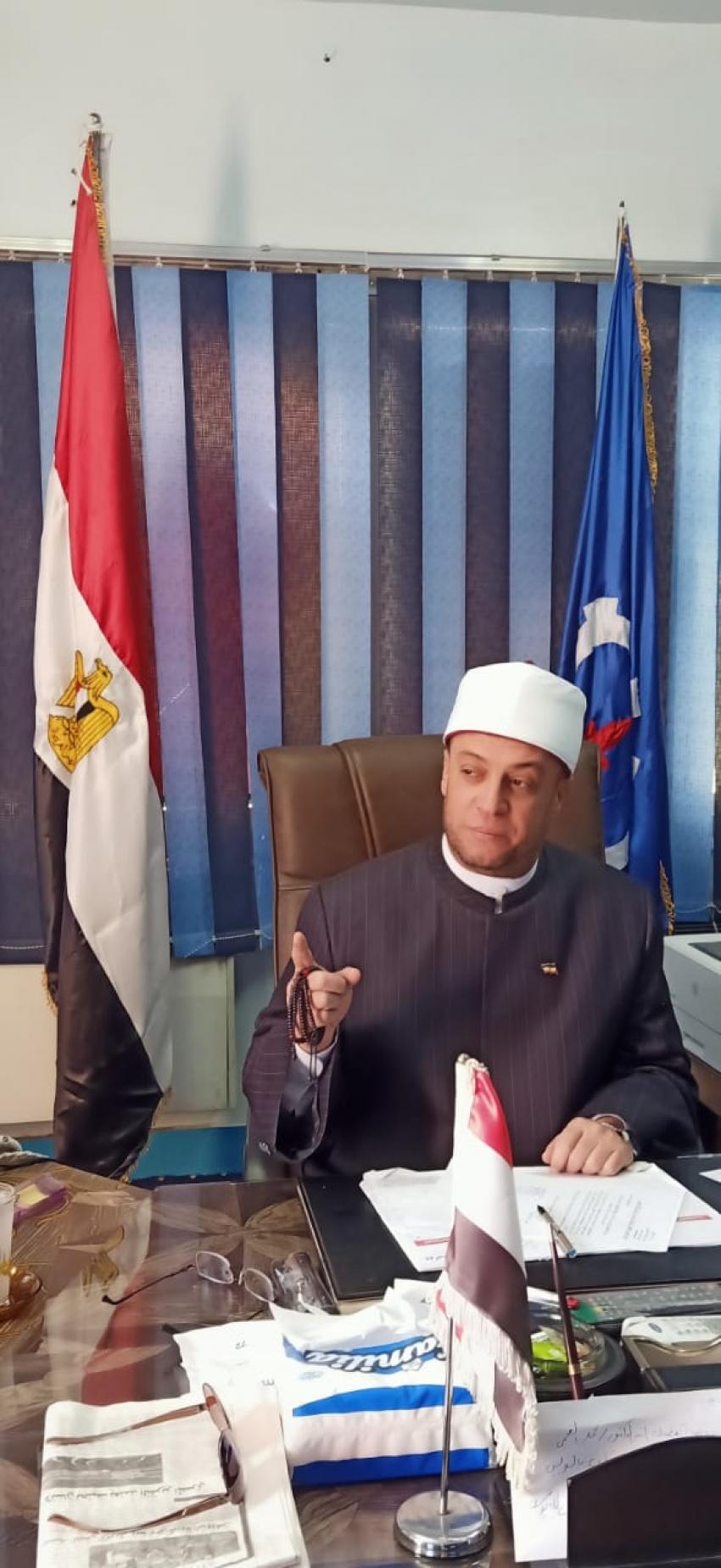 وكيل اوقاف السويس: غرفة عمليات بديوان المديرية لمتابعة سير العمل بالمساجد تجاه الظروف الراهنة