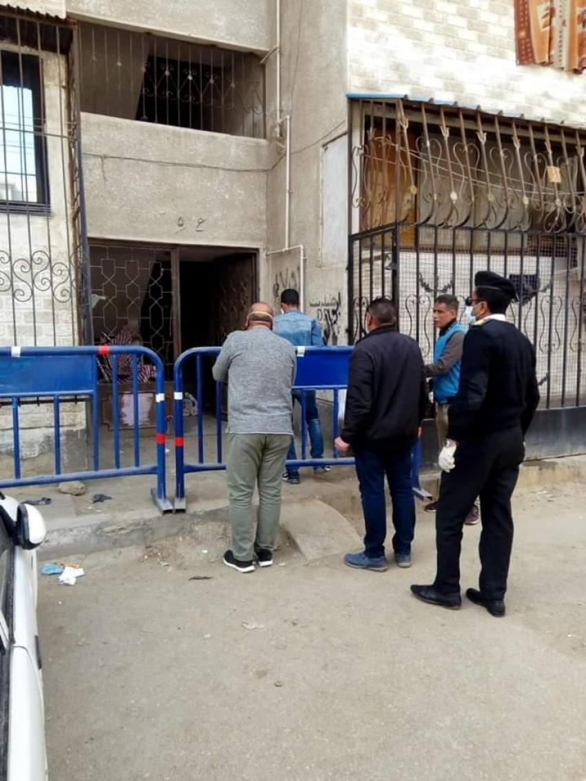 عزل العمارات المصابة في بورسعيد بسبب «كورونا»