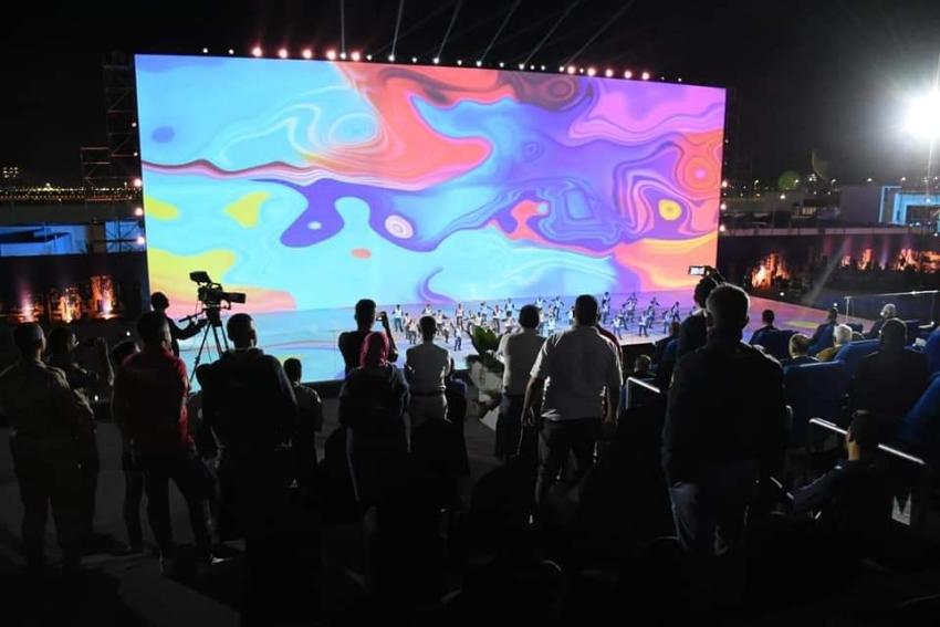 إشادة دولية بحفل افتتاح بطولة العالم للرماية للأطباق المروحية بمدينة مصر الدولية للألعاب الأولمبية بالعاصمة الإدارية الجديدة