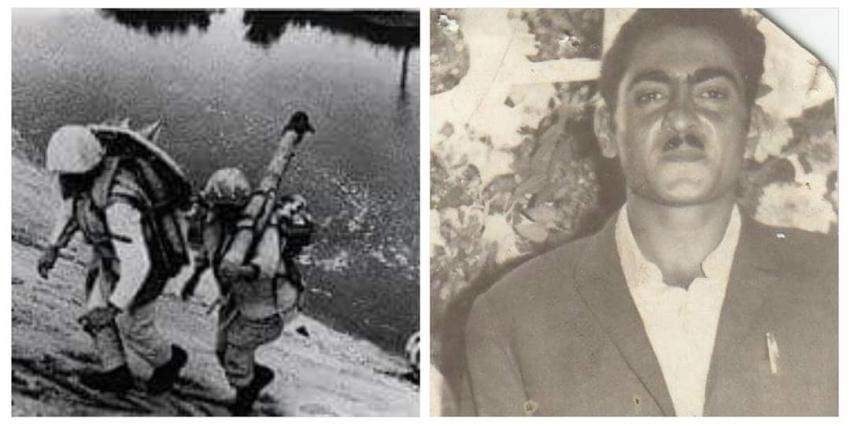 الجندي حامل المدفع علي خط بارليف  البطل الشهيد حسان أحمد أبوحزة