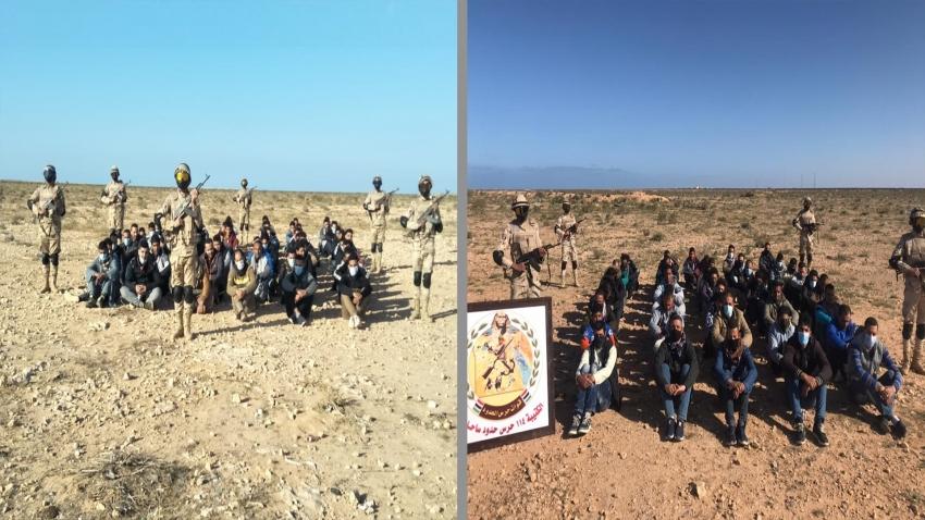 بالصور :قوات حرس الحدود تدمر 5 أنفاق وتضبط كميات ضخمة من المخدرات والاسلحة والسيارات