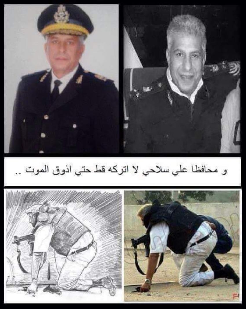 اللواء نبيل فراج  ضحية الإرهاب فى كرداسة..