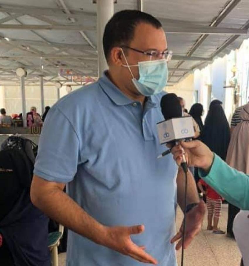 صحه السويس تعلن عوده العمل بالعيادات الخارجيه بالمستشفى العام يوم الاربعاء