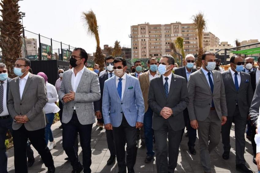 وزير الرياضة ومحافظ الغربية يشهدان الإفتتاح الجزئي لنادي سيتي كلوب طنطا