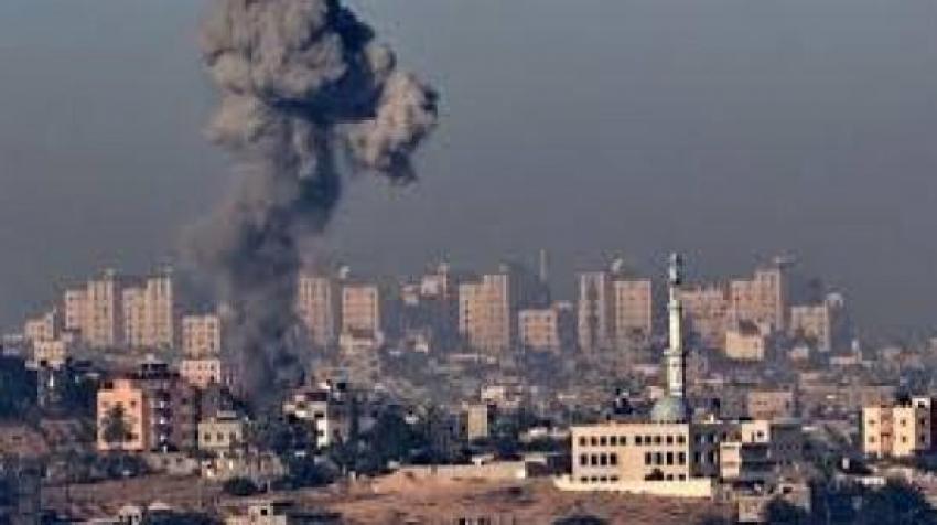 جيش الإحتلال الإسرائيلي يطلق غازات سامة صوب ابراج الشيخ زايد شمال قطاع غزه