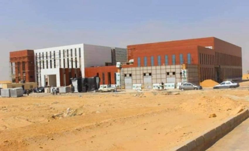 """تنفيذ """"مركز تجميع واختبار الأقمار الصناعية (AIT)"""" في العاصمة الإدارية الجديدة"""