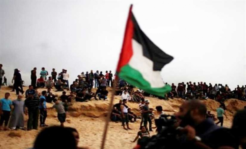إصابة 7 فلسطينيين بالرصاص جراء قمع الاحتلال الإسرائيلى لمسيرات العودة بغزة