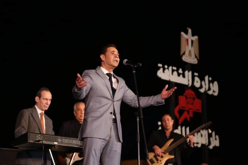 انطلاق فعاليات مهرجان دندرة للموسيقى والغناء