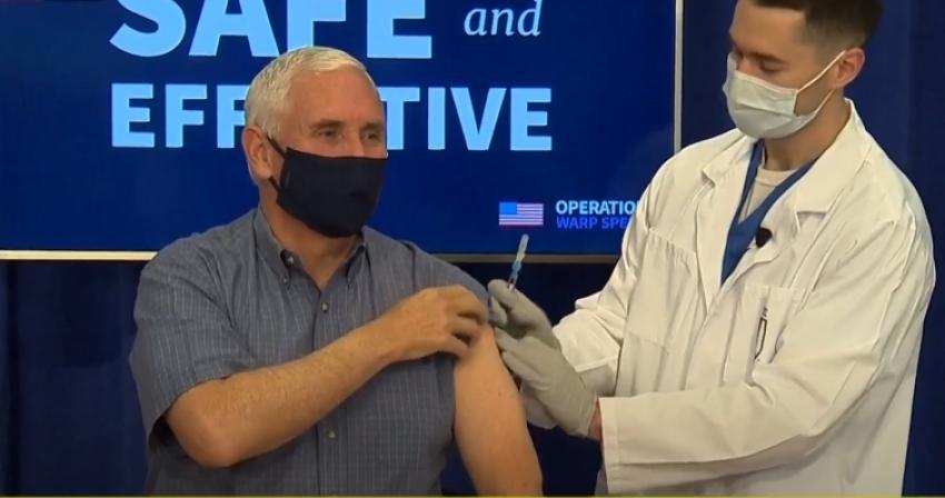 نائب الرئيس الامريكي يتلقى لقاح كورونا ويؤكد: سنوزع ملايين اللقاحات على الأمريكيين