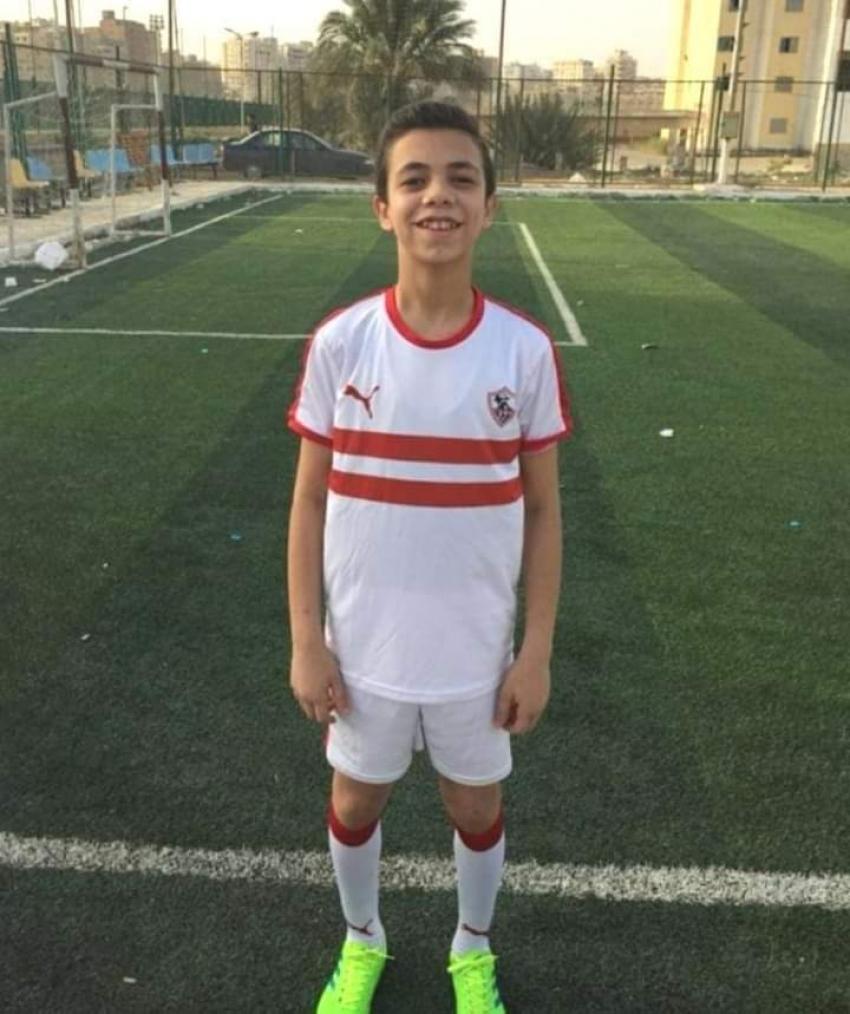 السويس تبكي اللاعب عمر اباظة ١٥ عاما.. توفي أثناء صلاة العشاء
