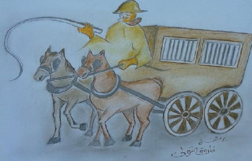 """ذكريات سويسية من عمر فات ..."""" عربيه للكلاب بقوة 2. حصان """""""