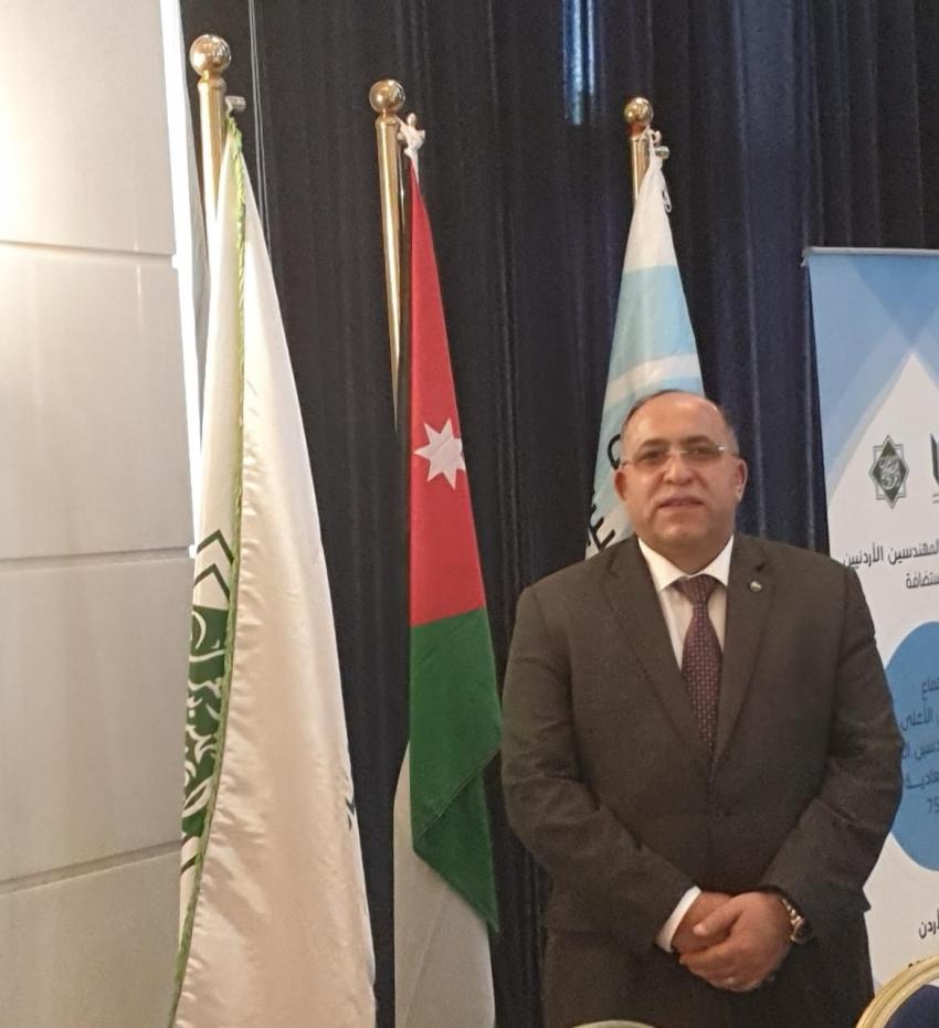 ابو سنه يفوز بمنصب عضوية المكتب التنفيذى لاتحاد المهندسين العرب