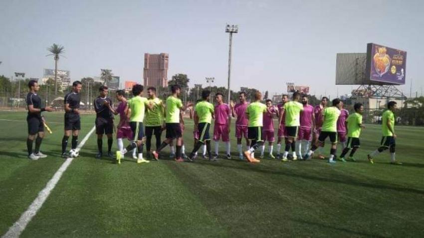 112 مباراة في انطلاق المرحلة الاولي لدوري مراكز الشباب