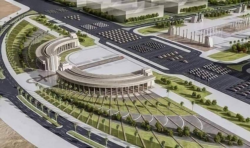ساحة الشعب - العاصمة الإدارية المصرية الجديدة