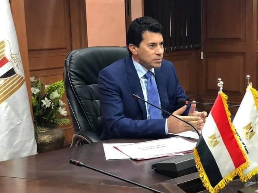 وزير الشباب والرياضة: اعفاء المستثمرين والمستأجرين بمراكز الشباب من دفع القيمة الايجارية