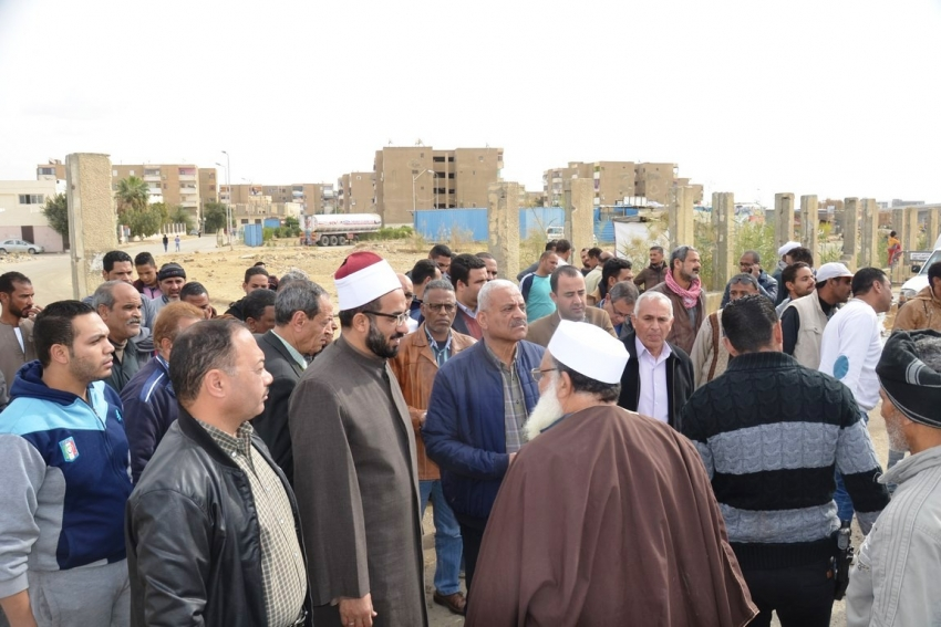 مسجد جديد على مساحة 180 متراً لخدمة الموقف الإقليمي لسيارات الأجرة بمحافظة السويس