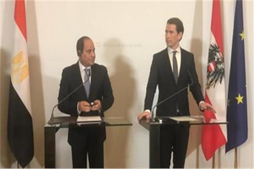 الرئيس السيسى: لم يخرج قارب واحد من مصر فى اتجاه أوروبا يحمل لاجئين