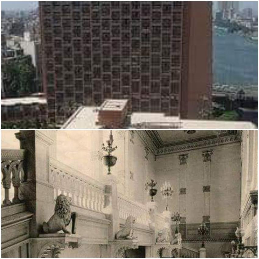 """"""" قصر الجزيرة """" حكاوي القاهرة  و فندق الماريوت"""