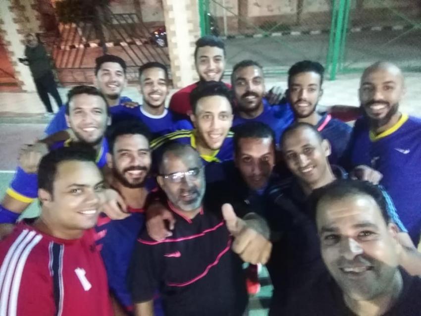 مركز شباب سليم الحى بطل الجمهورية فى كرة اليد.