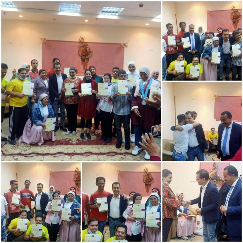 المسابقة الإقليمية الأولي لذوي الهمم بثقافة بورسعيد