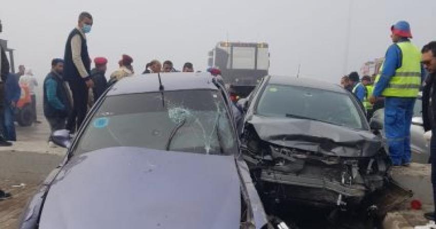 مصرع طفلين في حادث سيارة أثناء عبور الطريق في الشرقية