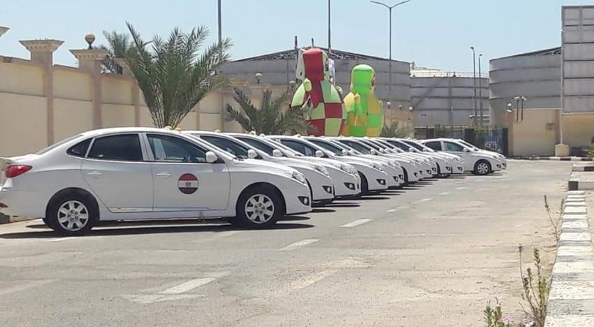 تسليم عدد 50 تاكسي لشباب السويس هيونداي النترا 2019