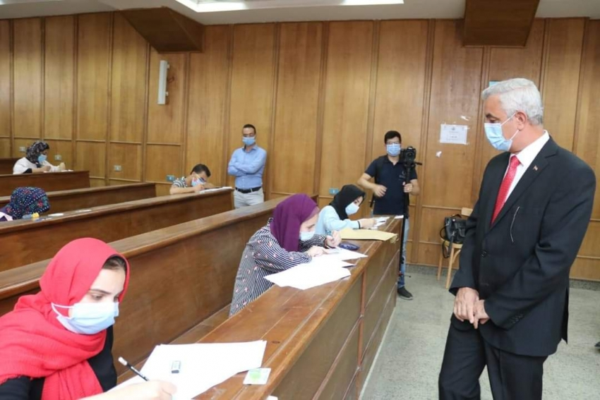 عبد الغفار:أداء إختبارات القدرات في مختلف الجامعات يسير بشكل منتظم وبدون شكاوى