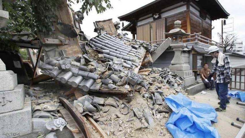 ارتفاع عدد قتلى زلزال اليابان