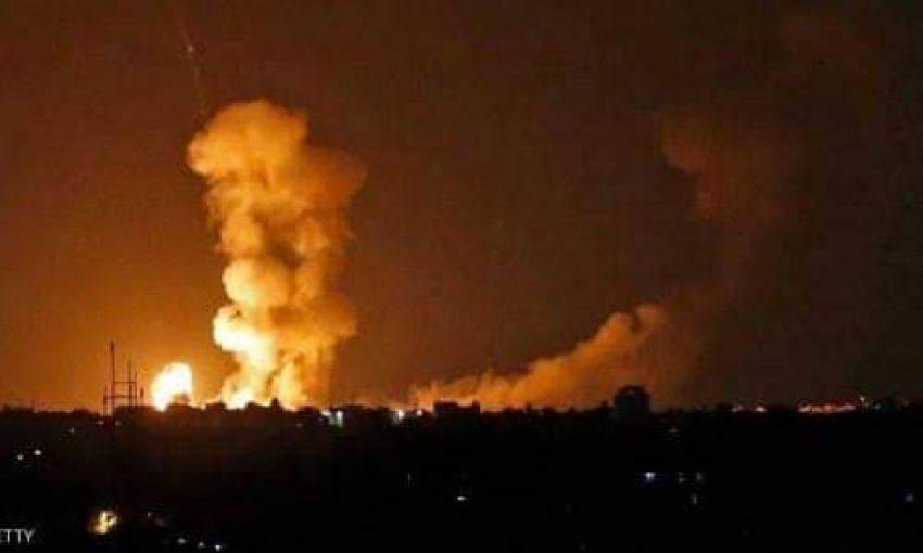 طائرات الاحتلال تشن غارات على مواقع للمقاومة بقطاع غزة